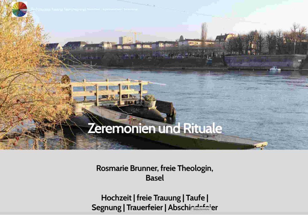 Bild: Screenshot Website freie Theologin